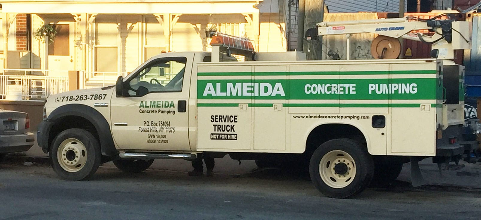 concrete pump repairs new york