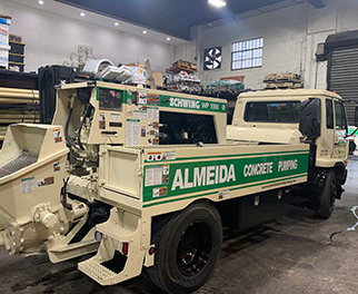 Line Pumping Services New York | Concrete Pumping