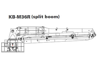 KB-M32R Placing Boom